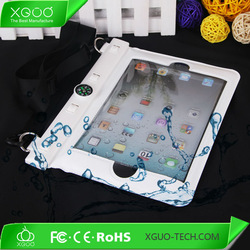 PVC under 15M waterproof pouch for ipad mini