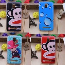 Cartoon cute tpu back cover case for htc desire 500