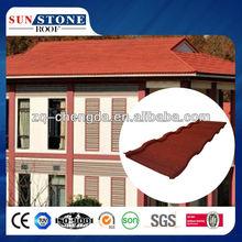 Newest Design Color Stone Villa Roof House Tile