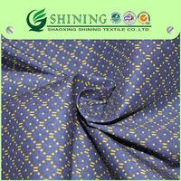 2015 new design 100% cotton poplin dress printed fabric