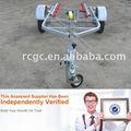 Ligero de utilidad galavanized jetskis/motos agua solo remolque