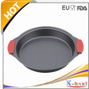 Sales Promotion Carbon Steel Birthday Baking Pan With Silicone Handles
