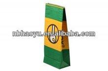 HY-K3099 2013 hot sale recycle papel kraft bolsas para carb&oacute