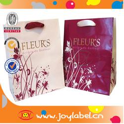 fashion art paper bag&art paper packing bags/art paper bag