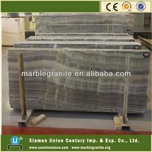 Grey Wooden Onyx Marble Slabs Stone Price