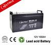 12V 100AH Lead Acid Battery For Myanmar Solar Generator