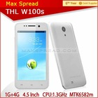 In stock THL W100 Dual Camera 8.0MP Quad Core t-mobile phone android