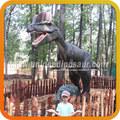 zona de juegos parque de atracciones de la escultura de dinosaurios dinosaurio de emulación