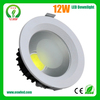 epistar chip led downlight 6 inch with 12w power