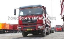 2014 Shaanxi dump truck Shacman dump truck 25ton load tipper