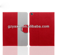 Mobile Phone Flip for ipad 5 leather stand case