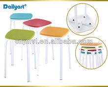 Popular metal colourful lovely stool(V052007)