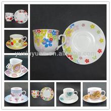 AB grade porcelain custom-made ceramic tea and coffee sets