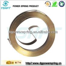 clockwork electrical equipment coil springs
