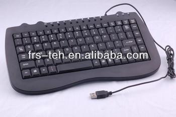 Laptop 98keys USB slim mini multimedia keyboard