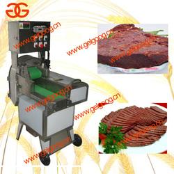 Cooked beef slicing machine / Frozen meat slicing machine / Pig ear slicing machine
