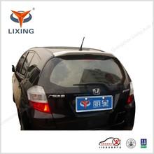 Fiber glass/ABS rear roof spoiler for honda FIT 2009