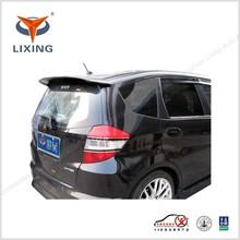 Fiber glass rear roof spoiler / spoiler for honda FIT - Type C