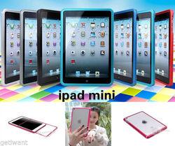 Luxury Slim Metal Alloy Bumper Slim Frame Hard Case Cover For iPad Mini