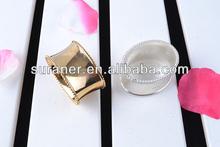 2014 caliente de la venta del oro anillos de servilleta