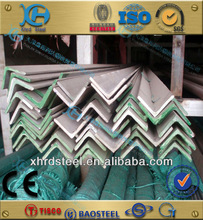 BS standard brushed stainless steel steel angle, stainless steel angle bar