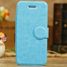 Luxury leather flip cover for iphone 5c , for iphone 5c flip cover , case for apple iphone5c