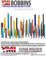 Plastic Bobbin for HOWA UA 33E RING FRAMES