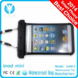 Hot sell 2013 new fashion pvc waterproof bag for ipad mini