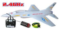 Skyartec F-16 5 Channel Ducted Fan Electric RC Plane
