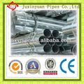 por inmersión en caliente tubos de acero galvanizado en la acción de acero galvanizado doblado de tubos