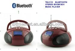 TB-6110 2014 boom-box bluetooth speaker midi, support USB / SD / TF, bluetooth, AUX in