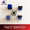 Interruptor de botón interruptor táctil con tapa 12*12 0.1a 50v dc