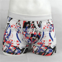 100% Nylon Men Briefs,fashionable firework artwork all over printing in yiwu