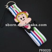 soft pvc rubber keychain Magic monkey
