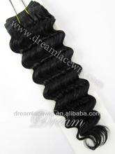 brazilian hair #1 10~28inch deep wave,lowest price