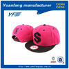 Oem cotton twill custom strap snapback cap