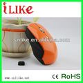 2014 laranja cor mouse óptico sem fio rf312