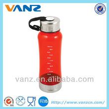 de pared simple y economía toro rojo botella de agua