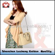 2014 new fashion handbag college girls or drop shipping leather handbag