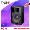 High quality karaoke pa outdoor party speakers with metal speaker stand