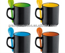 2014 hot sale fruit cup in ceramic with nice handle