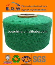 recycle cotton yarn for Glove knitting/blanket/towel/auto wiring harness/socks for kids/cotton glove