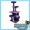 Dark Purple Cat Condo Wholesale Design Cat Scratching Trees