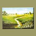 Impressionniste peinture à l'huile paysage peinture paysage natureal