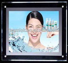 DIY led crystal light box frame,led light picture frame