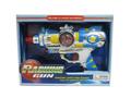 caliente abs de la batería nueva de juguete de plástico de la máquina con armas de fuego de sonido en71