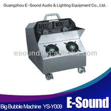 High power remote control 120w bubble machine