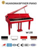HUANGMA HD-W100 red digital grand piano for child xylophone