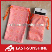 microfiber bag for phone,IPAD,glasses