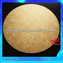 mdf cake board 3mm thickness for wedding birthday celebration